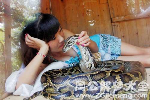 已婚女人梦见蛇