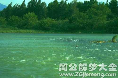 梦见河水很清澈